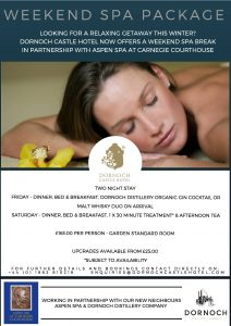 Dornoch castle Spa Package